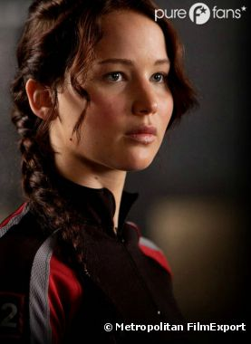 Katniss (Jennifer Lawrence) est la tribut féminine du District 12