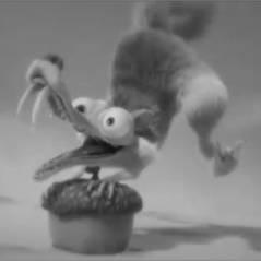 The Artist ou The Scratist : Quand Scrat et l'Age de Glace parodient Jean Dujardin ! (VIDEO)