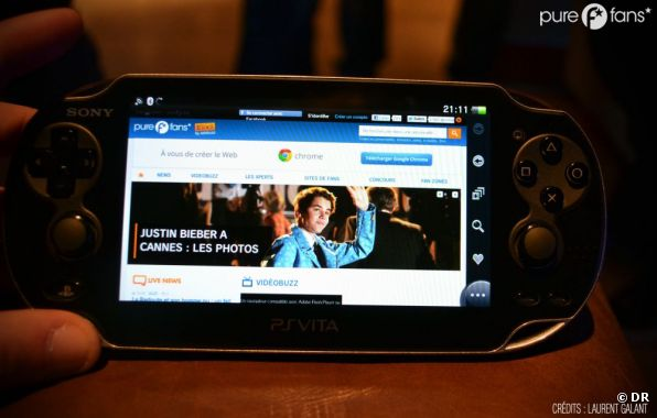 Soirée de lancement PS Vita