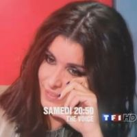 The Voice : Jenifer verse sa larme (VIDEO)
