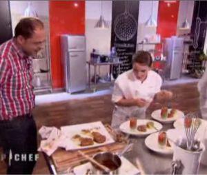 Freddy drague Noémie de Top Chef