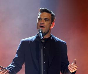 Mais parfois, Robbie Williams, il chante des chansons d'amour !