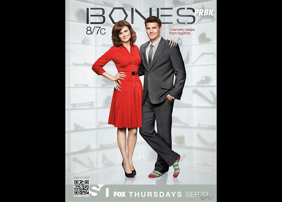 Bones et Brennan, déjà 8 saisons !