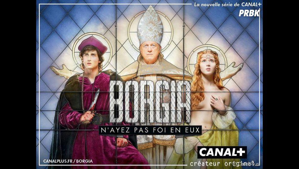 Borgia revient bientôt sur Canal Plus