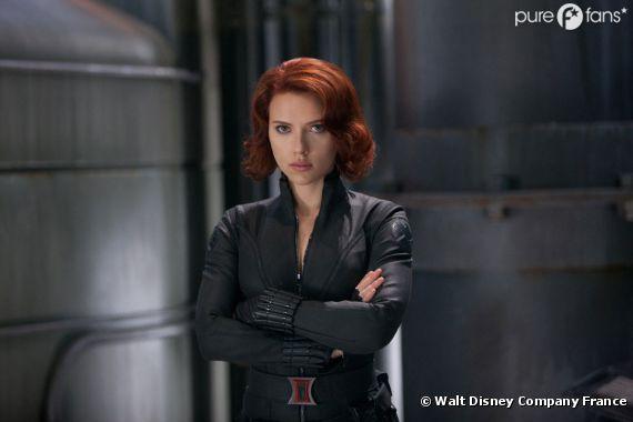 Scarlett Johansson torride dans Avengers