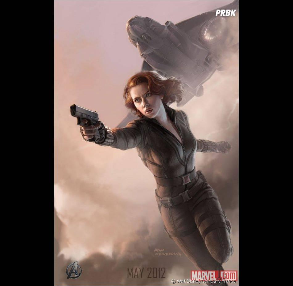 Scarlett Johansson redoutable guerrière dans Avengers