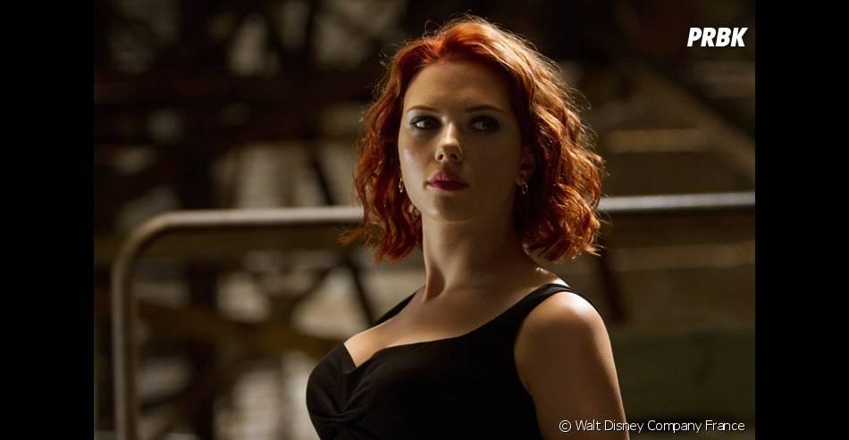 Scarlett Johansson en Black Widow dans Avengers