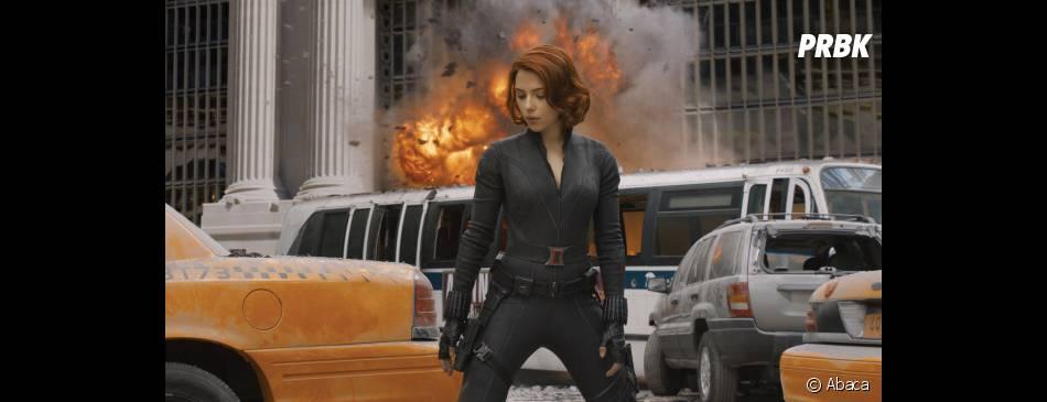 Scarlett Johansson, explosive dans The Avengers
