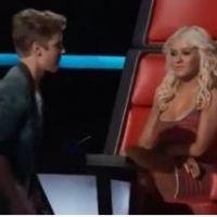 Justin Bieber : échange glacial avec Christina Aguilera sur le plateau de The Voice ! (VIDEO)