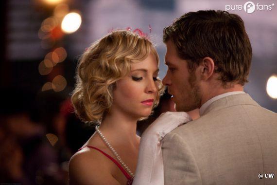 Klaus et Caroline se rapproche dans Vampire Diaries