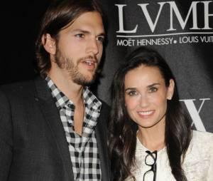 Demi Moore et son ex mari Ashton Kutcher