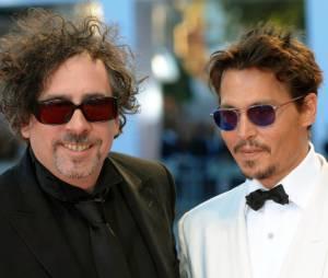 Tim Burton et Johnny Depp, comme des frères !