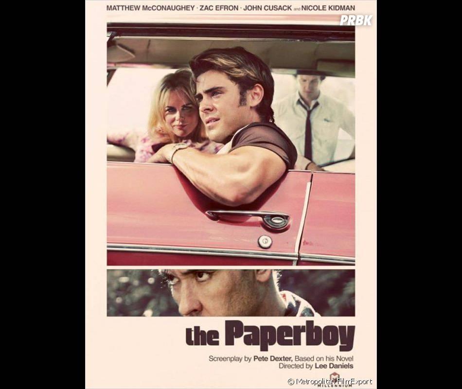 L'affiche de The Paperboy avec Zac Efron