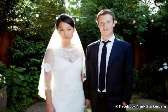 Mark Zuckerberg et Priscilla Chan, enfin mariés !