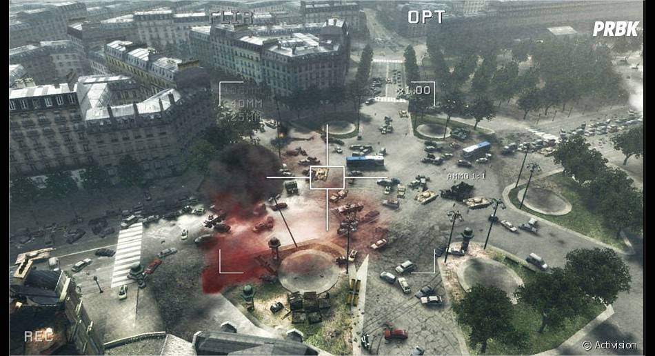 Call Of Duty : MW3, voyagez partout dans le monde