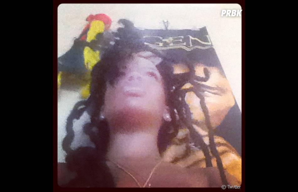 Rihanna et ses dreadlocks à la Bob Marley