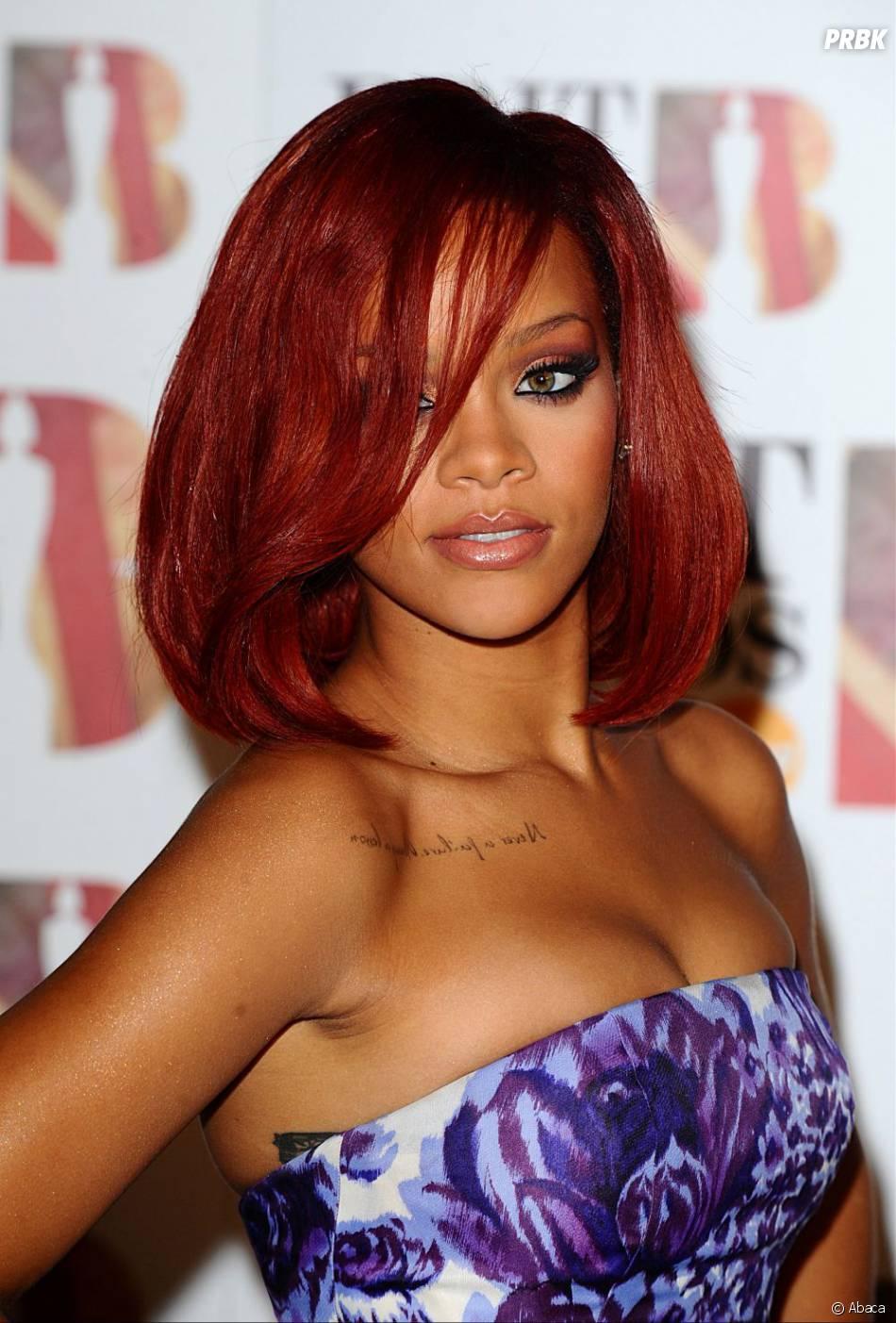 Rihanna l 39 poque en mode cheveux rouge for Coupe de cheveux jelena la revanche des ex