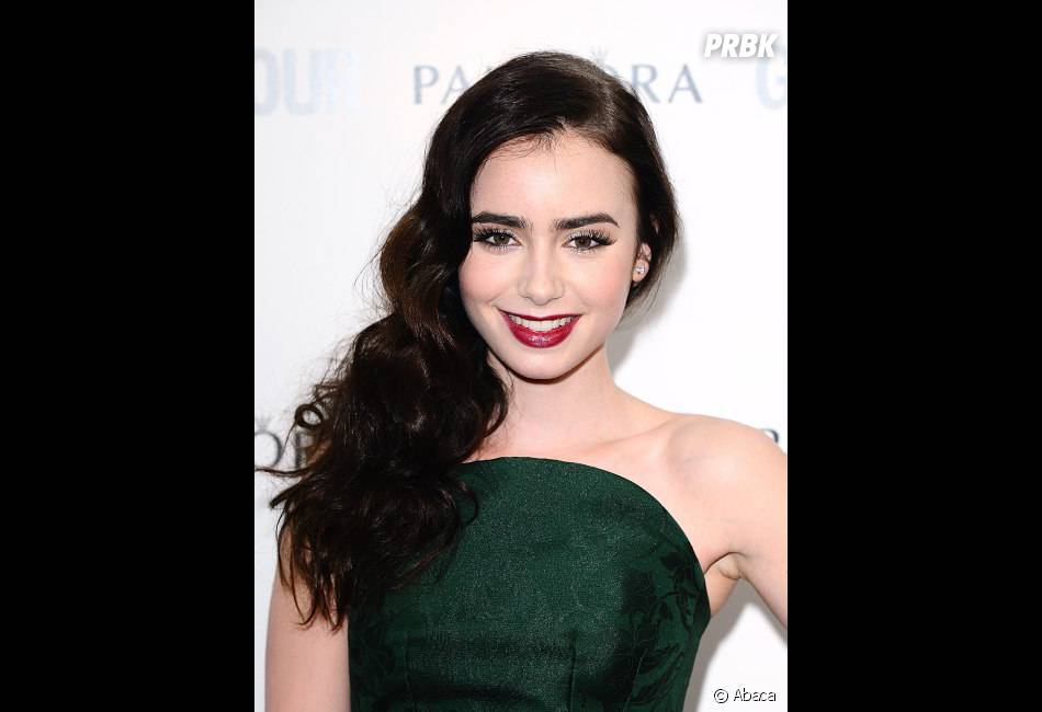 Lily Collins, vraie star du tapis rouge !