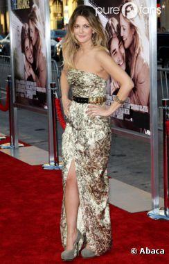 Drew Barrymore somptueuse