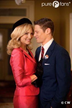 Caroline et Matt dans Vampire Diaries