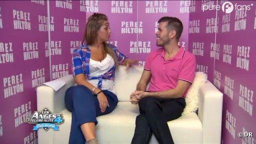 Aurélie interviewe Perez Hilton dans la chat room