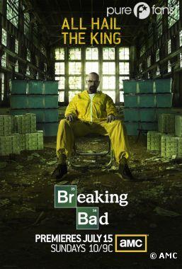 Première poster de la saison 5 de Breaking Bad