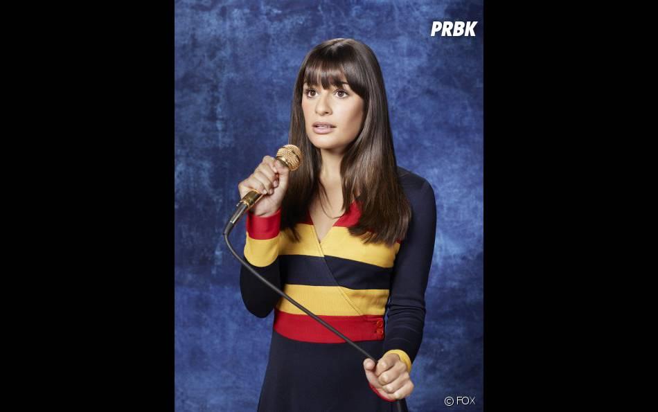 Lea Michele se confie sur la saison 4 de Glee