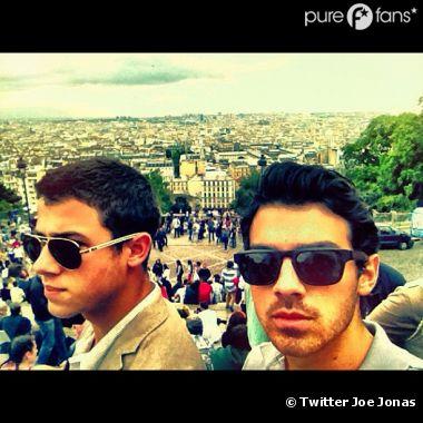 Les Jonas Brothers à Montmartre