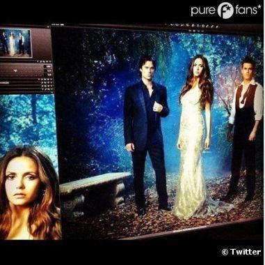 Photoshoot sexy pour Vampire Diaries !