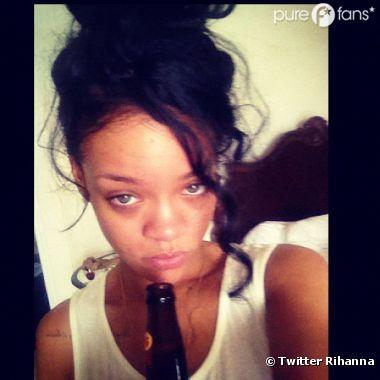 Rihanna au fond du trou après l'enterrement de sa grand-mère