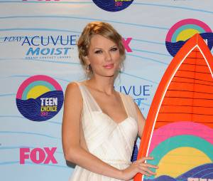 Taylor Swift toute mimi aux TCA's