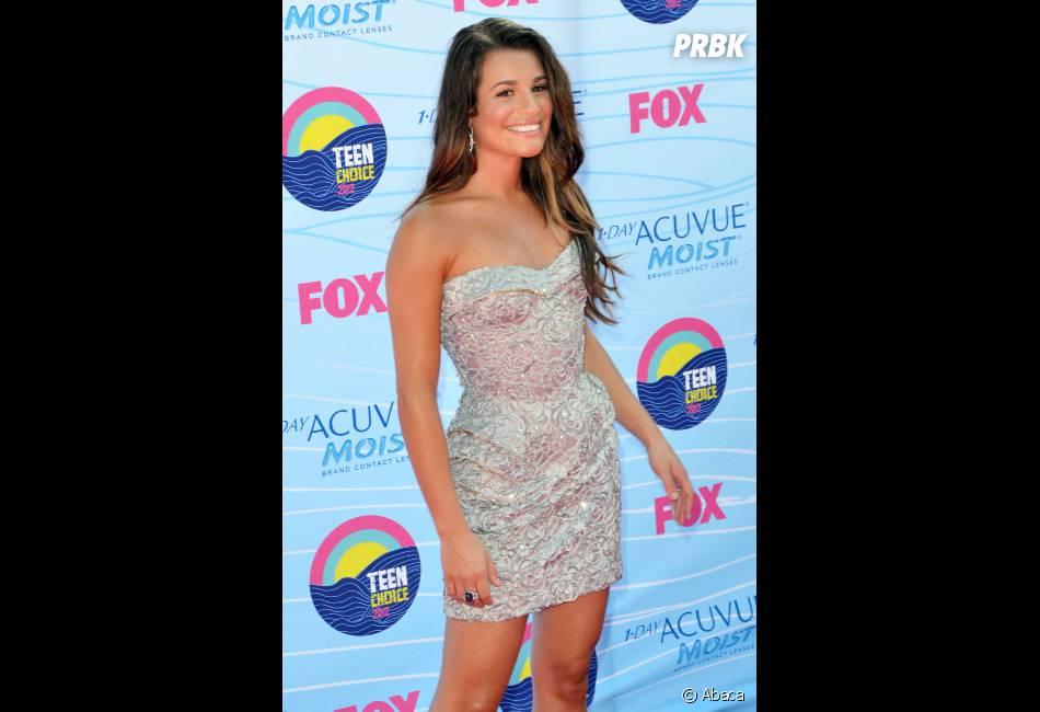 Lea Michele était sublime aux Teen Choice Awards 2012