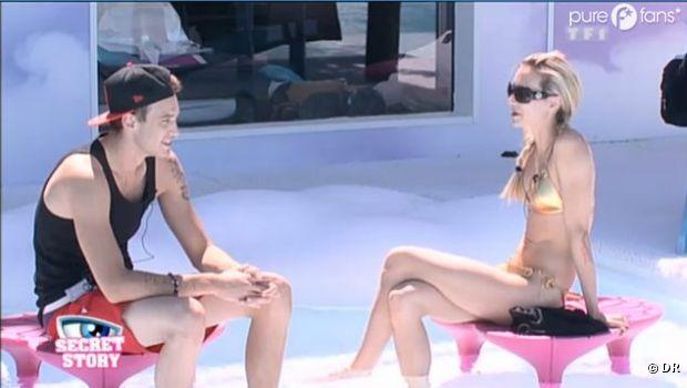 Audrey et Julien parlent des nominations