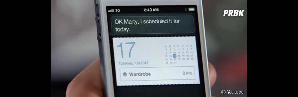 """Marty"" s'entend bien avec Siri !"