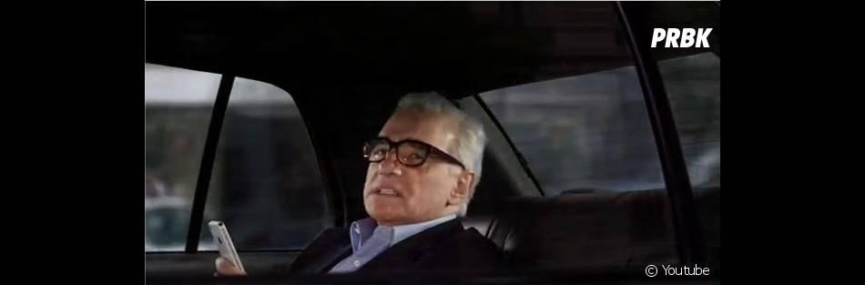 Martin Scorsese réel utilisateur de Siri ?