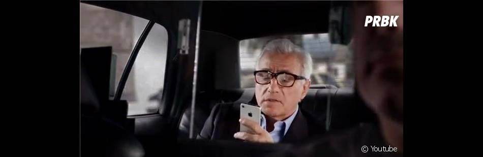 Marty a une grande confiance en son iPhone