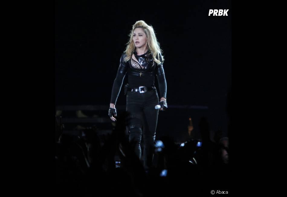 Madonna a fait le buzz au Stade de France