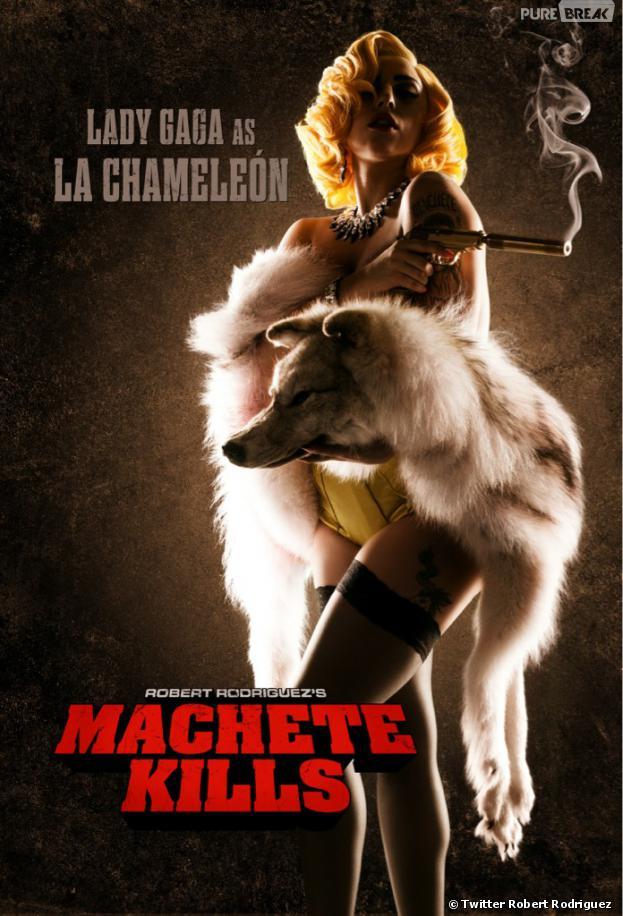 Lady Gaga, une tueuse dans Machete Kills