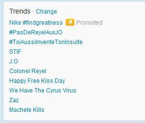 Colonel Reyel en double trending topic !