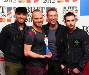 Coldplay au top aux Brit Awards 2012