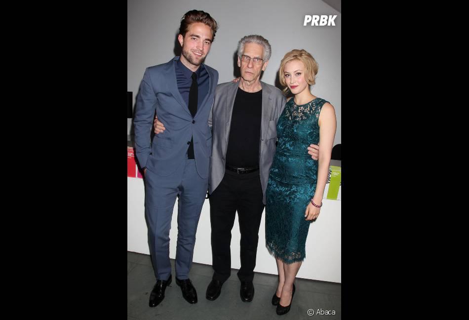 Robert Pattinson et toute l'équipe de Cosmopolis