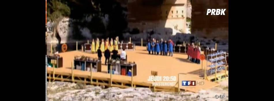 Les candidats cuisineront au pied du pont du Gard