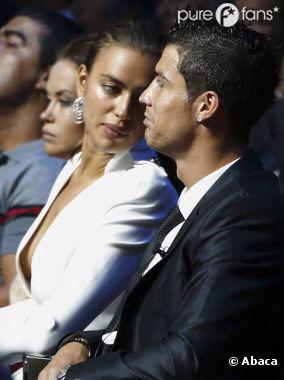 Cristiano Ronaldo et Irina Shayk s'affichent ensemble au tirage de la Ligue des Champions