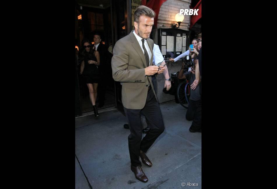 David Beckham n'a pas manqué le défilé de sa femme !