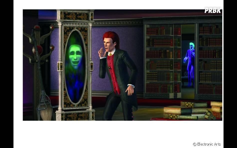 Dans les Sims 3 : Super-Pouvoirs, vous pourrez devenir un vampire narcissique