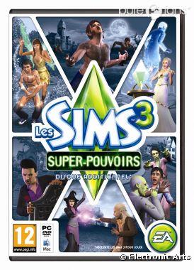 Les sims 3 : Super-pouvoirs sort en septembre 2012