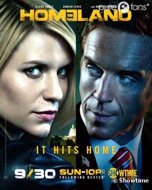 La saison 2 d'Homeland arrive le 30 septembre aux USA