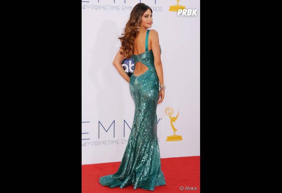 Sofia Vergara a brillé pendant les Emmy Awards 2012