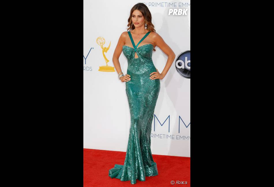 Sofia Vergara, une sriène sur le tapis rouge des Emmy Awards