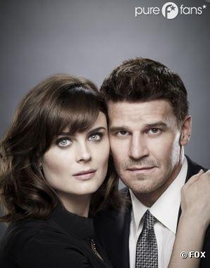 Booth et Brennan entre tensions et passion dans Bones !